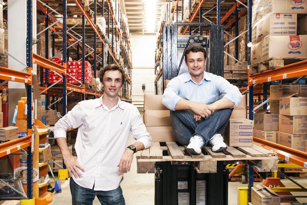 Guilherme Reitz e Leandro Baptista, sócio fundadores do Axado