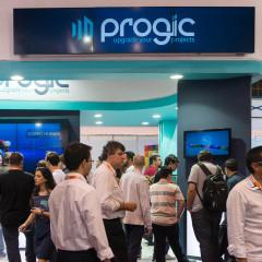 Progic apresenta soluções em feira de mídia digital em SP