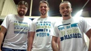 Cassiano, Gilles e Daniel, da Treasy: solução inédita no Brasil vem crescendo 65% ao mês