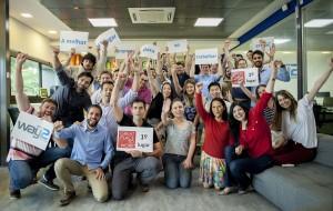 Autonomia, colaboração e infraestrutura de ponta deram o topo do ranking das pequenas empresa à Way2, de Florianópolis / Crédito: Antônio Rossa