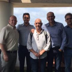 Representantes da ACATE buscam inspiração em ecossistema israelense