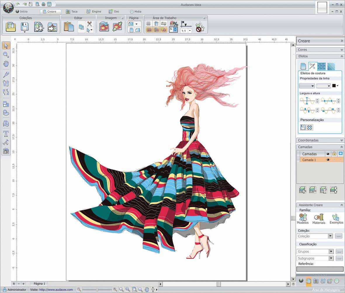 Audaces lança software gratuito para designers de moda
