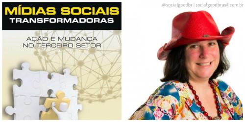 Beth Kanter palestra no Social Good Brasil sobre tecnologia e terceiro setor