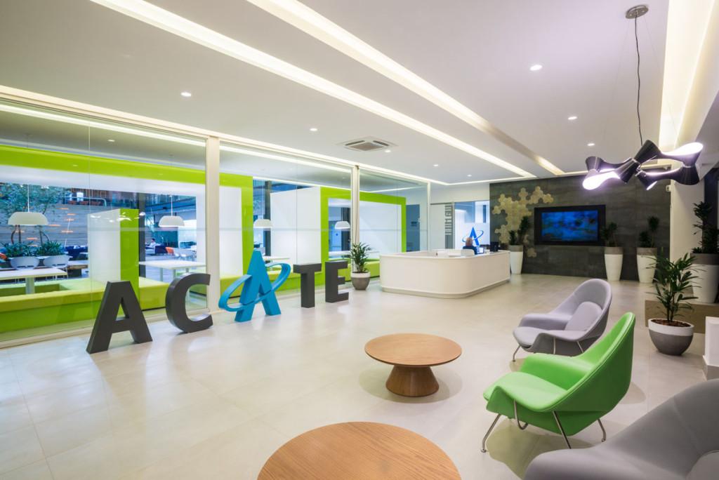 A sede do MIDI Tecnológico fica no recém-inaugurado Centro de Inovação ACATE. Crédito: divulgação/ACATE