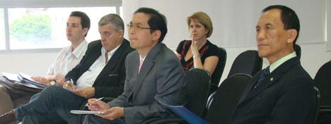 Coreanos conhecem polo tecnológico de Florianópolis