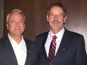Novos diretores da FAPESC:  Cícero e Sebastião