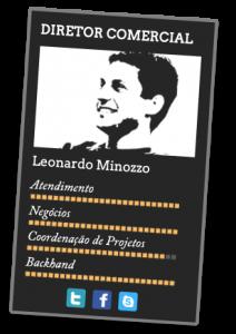 Leonardo Minozzo. Crédito: site Cafundó