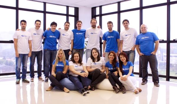 Equipe da Meus Pedidos, de Joinville: aporte dos fundos  ajudará a triplicar número de colaboradores