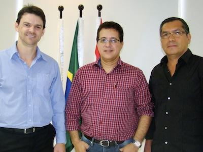 Everton Gubert, Rui Gonçalves e Guilherme Bernard