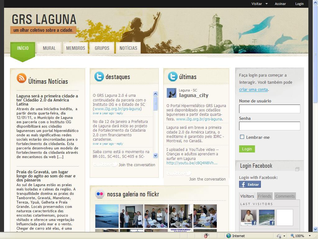 Laguna terá Cidadão 2.0