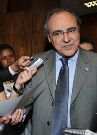 Presidente da Confederação Nacional de Serviços conhece setor tecnológico catarinense