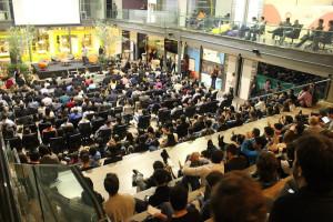 Última edição do Meetup lotou o Centro de Inovação ACATE. Crédito: Divulgação