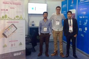 André Rodrigues (ao centro): participação no ICOMEX é um atalho para novos negócios no país