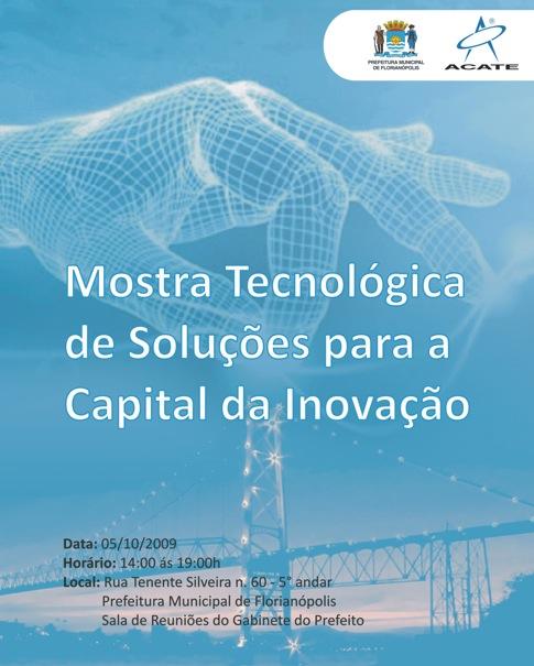 Mostra Tecnológica de Soluções para a Capital da Inovação