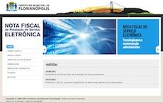 Florianópolis terá nota fiscal de serviço eletrônica