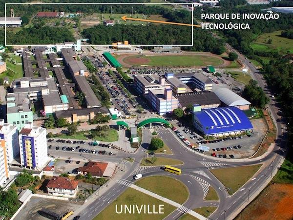 Joinville ganha parque tecnológico