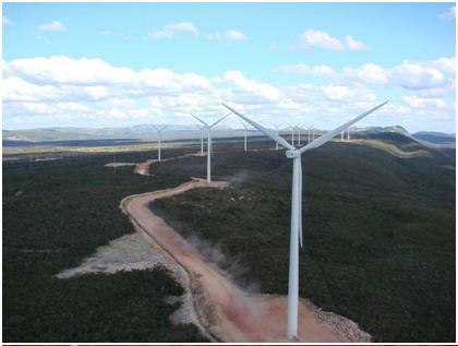 Catarinense implanta sistema de medição em central eólica na Bahia