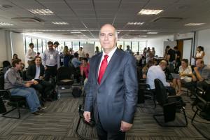 Referência em inovação na Espanha, Pique veio a Florianópolis a convite da Recepeti