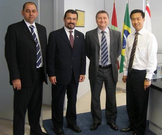 ASSESPRO-SC reune-se com Banco do Brasil em Santa Catarina