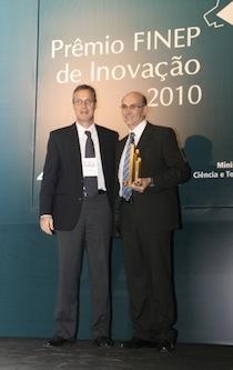 Embraco conquista Prêmio FINEP 2010